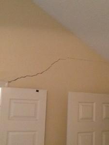 Cracked Sheetrock